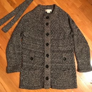 Michael Kors Belted Cardigan size S